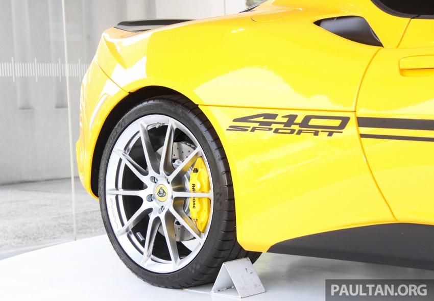 Lotus Evora Sport 410 kini di Malaysia secara rasmi – manual dan automatik 6-kelajuan, RM641k-RM652k Image #653824