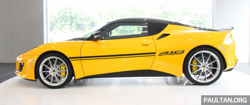 Lotus Evora Sport 410 launched in Malaysia, fr RM641k Image #653821
