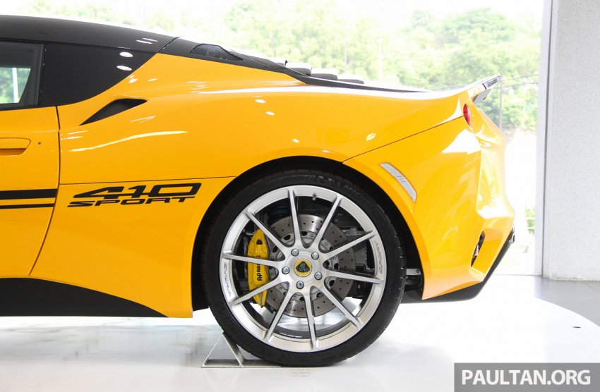 Lotus Evora Sport 410 launched in Malaysia, fr RM641k Image #653823