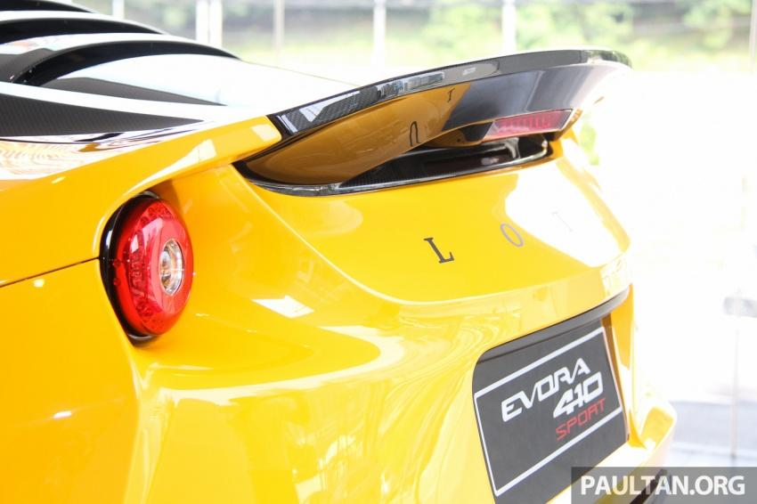 Lotus Evora Sport 410 kini di Malaysia secara rasmi – manual dan automatik 6-kelajuan, RM641k-RM652k Image #653837