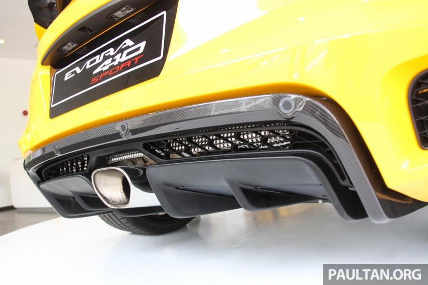 Lotus Evora Sport 410 kini di Malaysia secara rasmi – manual dan automatik 6-kelajuan, RM641k-RM652k Image #653841