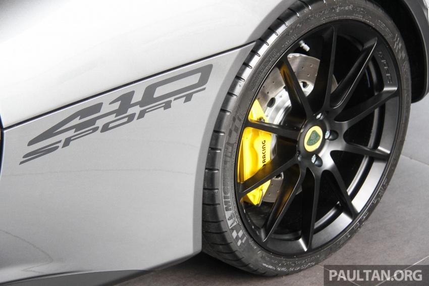 Lotus Evora Sport 410 kini di Malaysia secara rasmi – manual dan automatik 6-kelajuan, RM641k-RM652k Image #653753