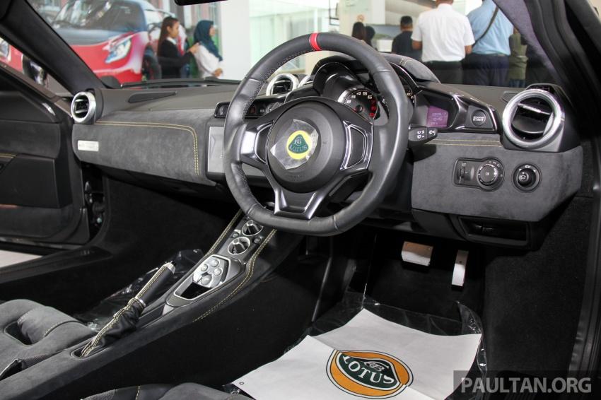 Lotus Evora Sport 410 kini di Malaysia secara rasmi – manual dan automatik 6-kelajuan, RM641k-RM652k Image #653863