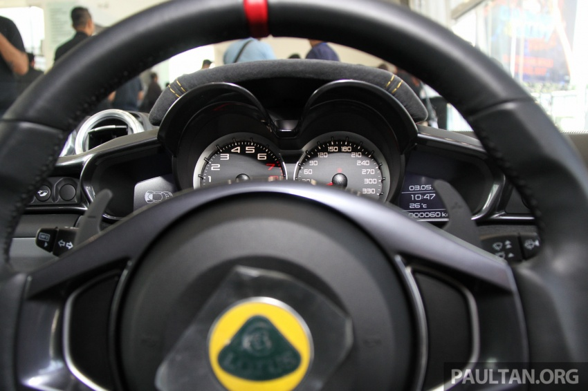 Lotus Evora Sport 410 launched in Malaysia, fr RM641k Image #653869