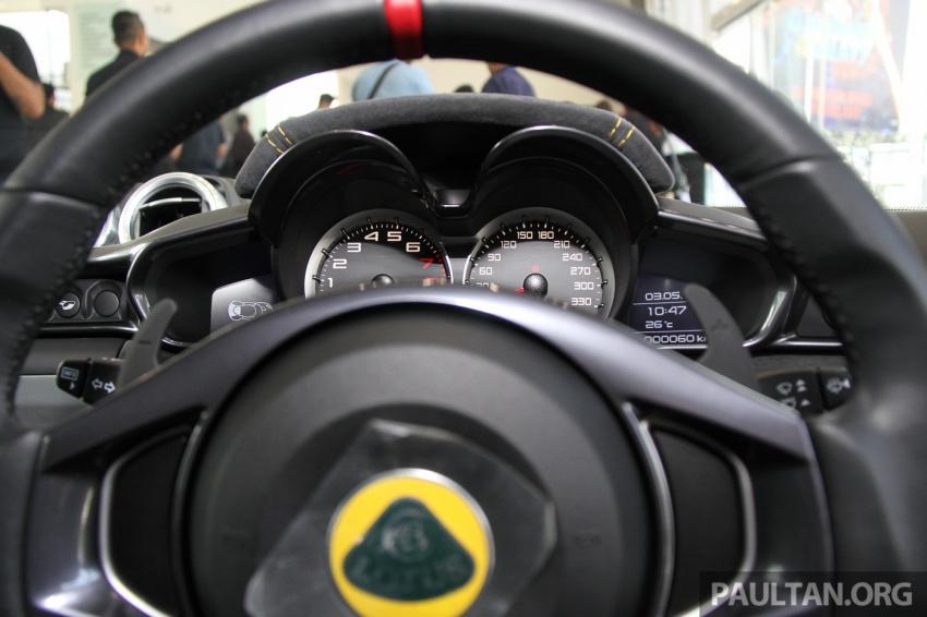 Lotus Evora Sport 410 kini di Malaysia secara rasmi – manual dan automatik 6-kelajuan, RM641k-RM652k Image #653881