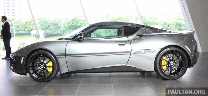 Lotus Evora Sport 410 launched in Malaysia, fr RM641k Image #653785