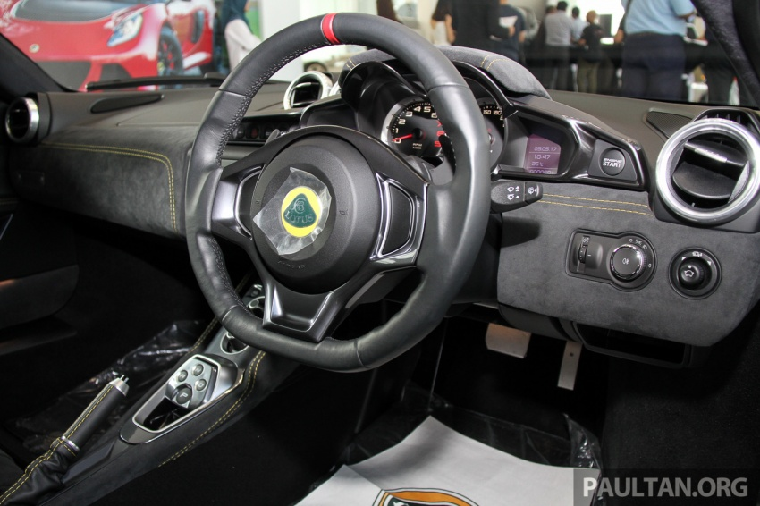 Lotus Evora Sport 410 launched in Malaysia, fr RM641k Image #653871