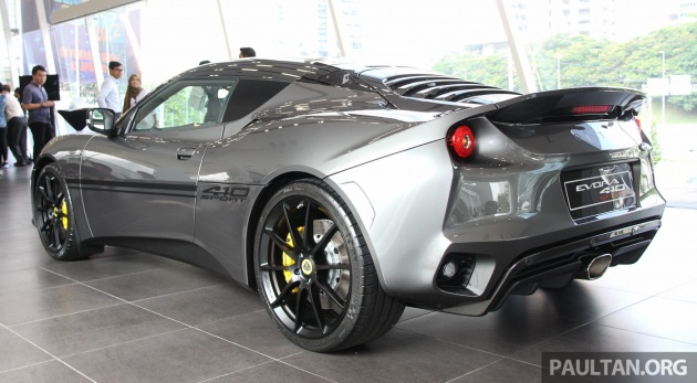2018 lotus evora 410. interesting 410 the carbon fibre tailgate is also new combining the previous unitu0027s five  separate elements into a single panel jettisoning rear glass for slats in  and 2018 lotus evora 410