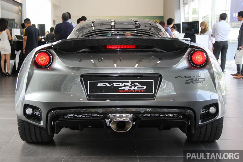 Lotus Evora Sport 410 launched in Malaysia, fr RM641k Image #653787