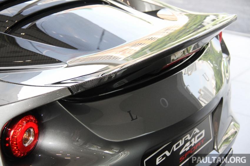 Lotus Evora Sport 410 kini di Malaysia secara rasmi – manual dan automatik 6-kelajuan, RM641k-RM652k Image #653772