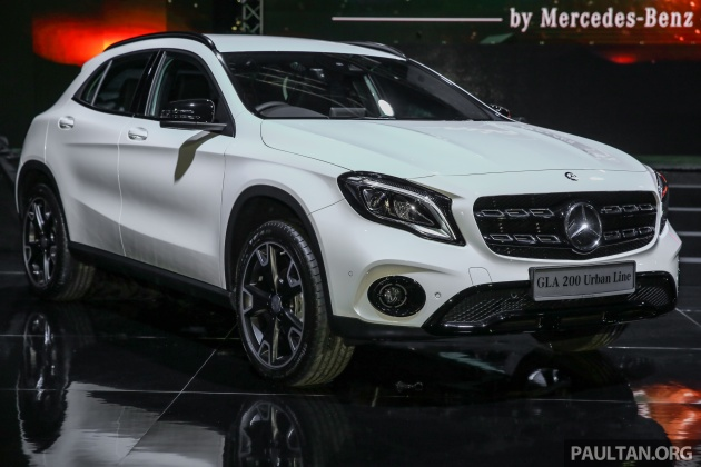 Mercedes Off Road Suv >> X156 Mercedes-Benz GLA facelift launched in Malaysia - GLA200 for RM240k, GLA250 4Matic at RM270k