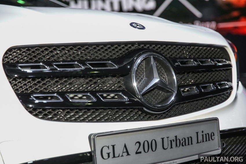 X156 Mercedes-Benz GLA facelift launched in Malaysia – GLA200 for RM240k, GLA250 4Matic at RM270k Image #663381