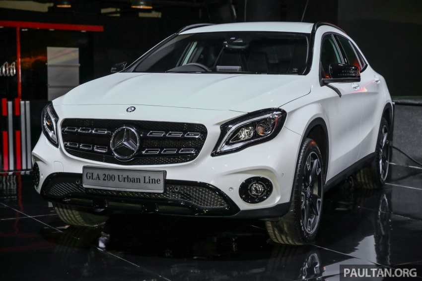 X156 Mercedes-Benz GLA facelift launched in Malaysia – GLA200 for RM240k, GLA250 4Matic at RM270k Image #663371