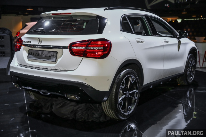 X156 Mercedes-Benz GLA facelift launched in Malaysia – GLA200 for RM240k, GLA250 4Matic at RM270k Image #663372