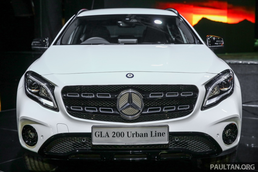 X156 Mercedes-Benz GLA facelift launched in Malaysia – GLA200 for RM240k, GLA250 4Matic at RM270k Image #663373