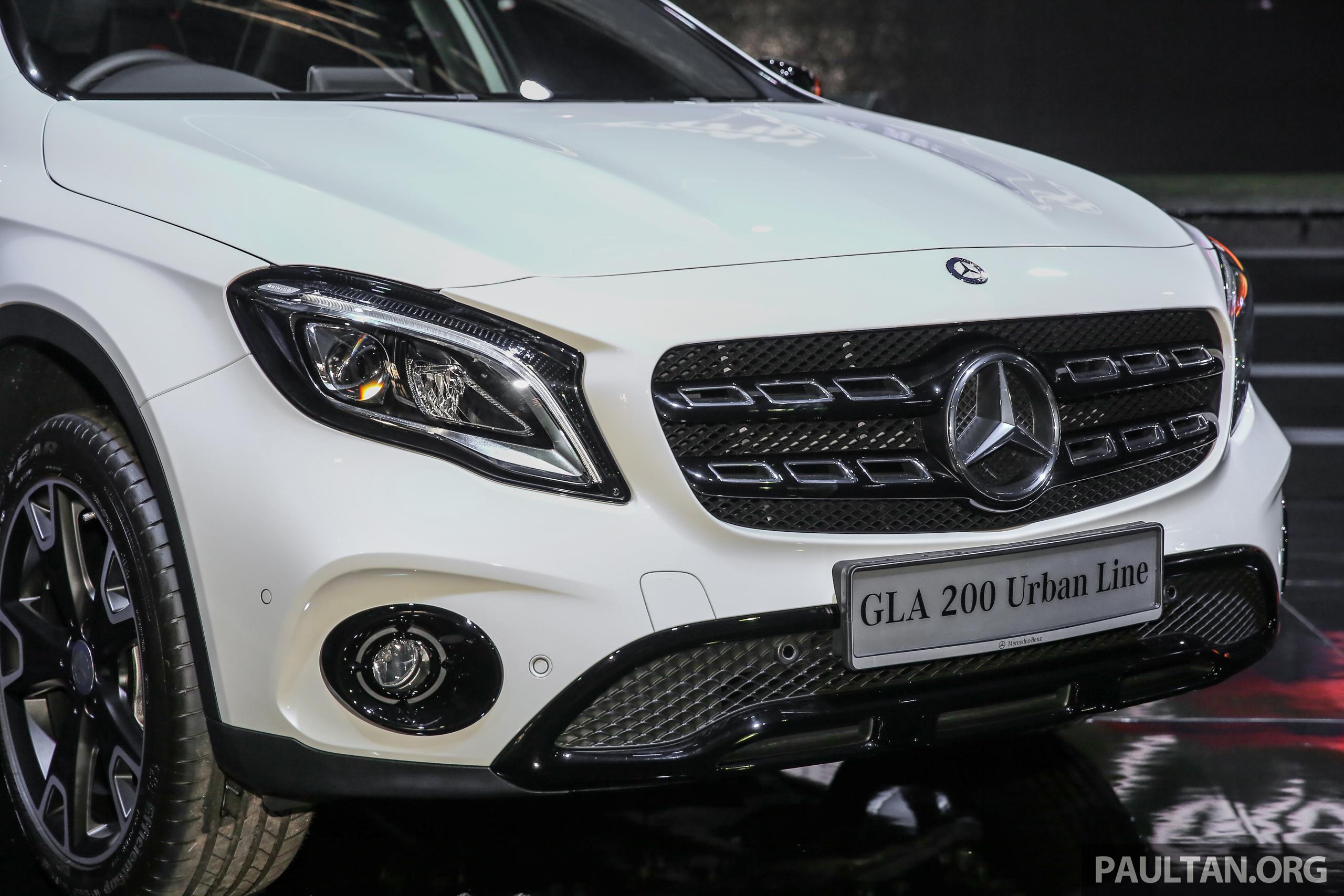 Mercedes benz gla 200 gla 250 4matic facelift turut for Mercedes benz gla 200