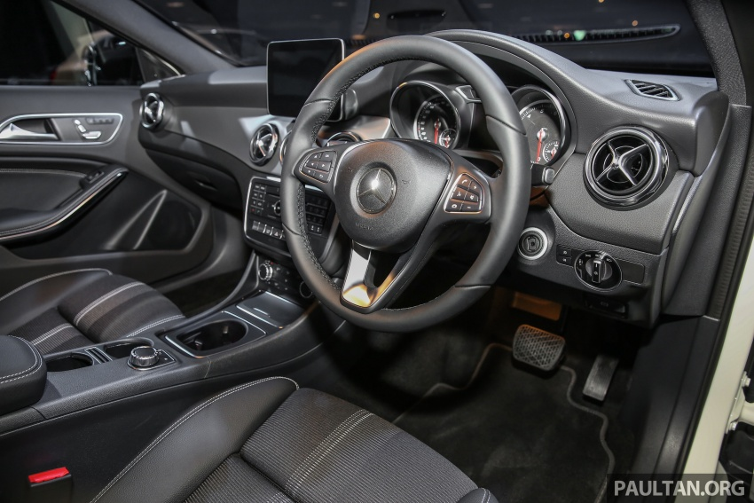 X156 Mercedes-Benz GLA facelift launched in Malaysia – GLA200 for RM240k, GLA250 4Matic at RM270k Image #663396