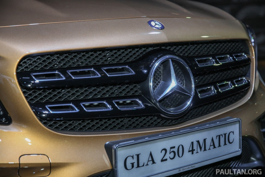 X156 Mercedes-Benz GLA facelift launched in Malaysia – GLA200 for RM240k, GLA250 4Matic at RM270k Image #663463