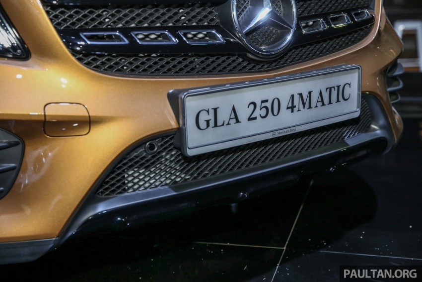 X156 Mercedes-Benz GLA facelift launched in Malaysia – GLA200 for RM240k, GLA250 4Matic at RM270k Image #663464