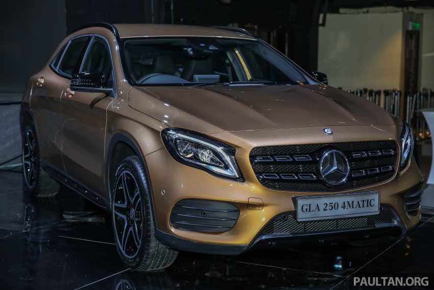 X156 Mercedes-Benz GLA facelift launched in Malaysia – GLA200 for RM240k, GLA250 4Matic at RM270k Image #663446
