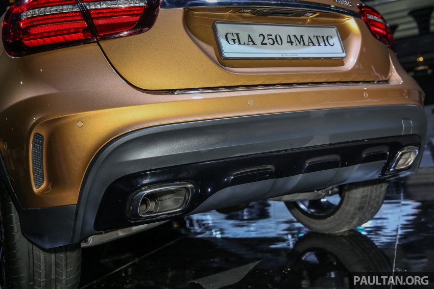 X156 Mercedes-Benz GLA facelift launched in Malaysia – GLA200 for RM240k, GLA250 4Matic at RM270k Image #663475
