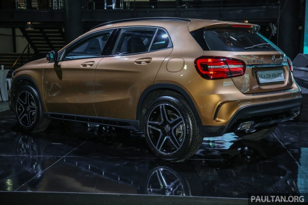 x156 mercedes benz gla facelift launched in malaysia gla200 for rm240k gla250 4matic at rm270k. Black Bedroom Furniture Sets. Home Design Ideas