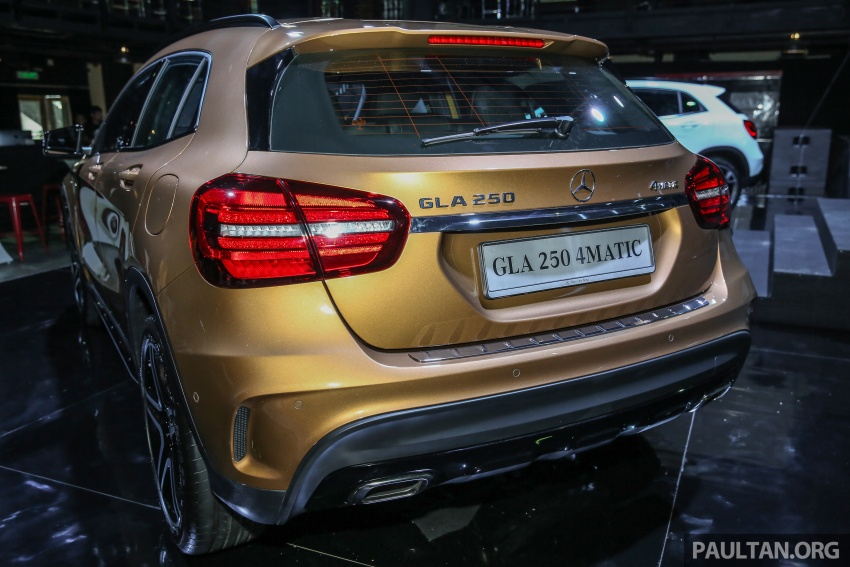 X156 Mercedes-Benz GLA facelift launched in Malaysia – GLA200 for RM240k, GLA250 4Matic at RM270k Image #663450