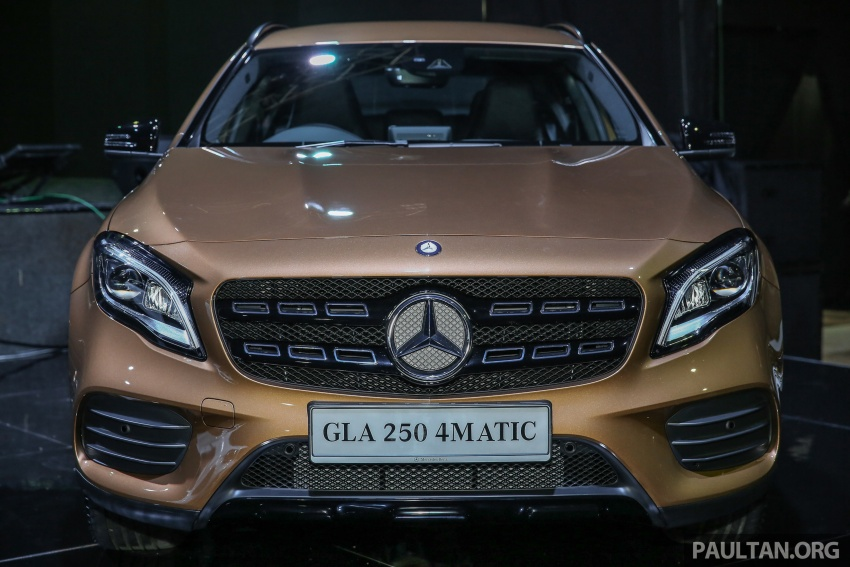 X156 Mercedes-Benz GLA facelift launched in Malaysia – GLA200 for RM240k, GLA250 4Matic at RM270k Image #663452