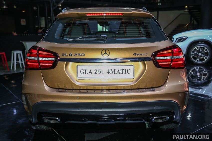 X156 Mercedes-Benz GLA facelift launched in Malaysia – GLA200 for RM240k, GLA250 4Matic at RM270k Image #663454