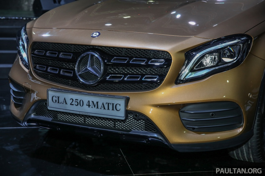 X156 Mercedes-Benz GLA facelift launched in Malaysia – GLA200 for RM240k, GLA250 4Matic at RM270k Image #663457