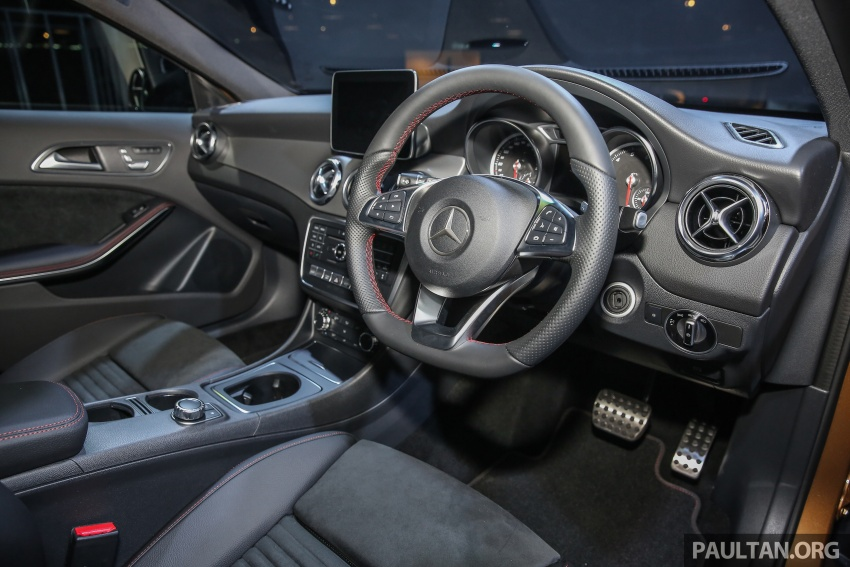 X156 Mercedes-Benz GLA facelift launched in Malaysia – GLA200 for RM240k, GLA250 4Matic at RM270k Image #663479