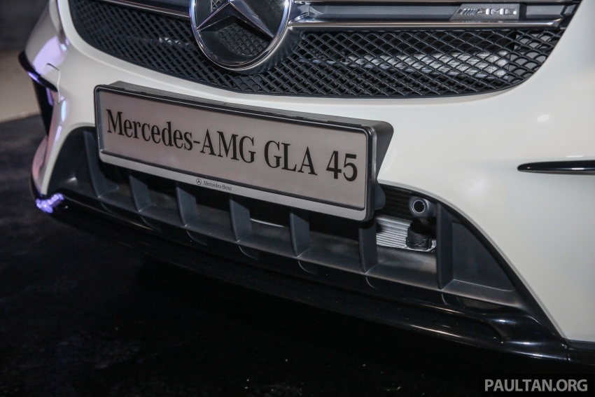 Mercedes-AMG GLA45 4Matic facelift makes its Malaysian debut – 375 hp and 475 Nm, RM408,888 Image #663568