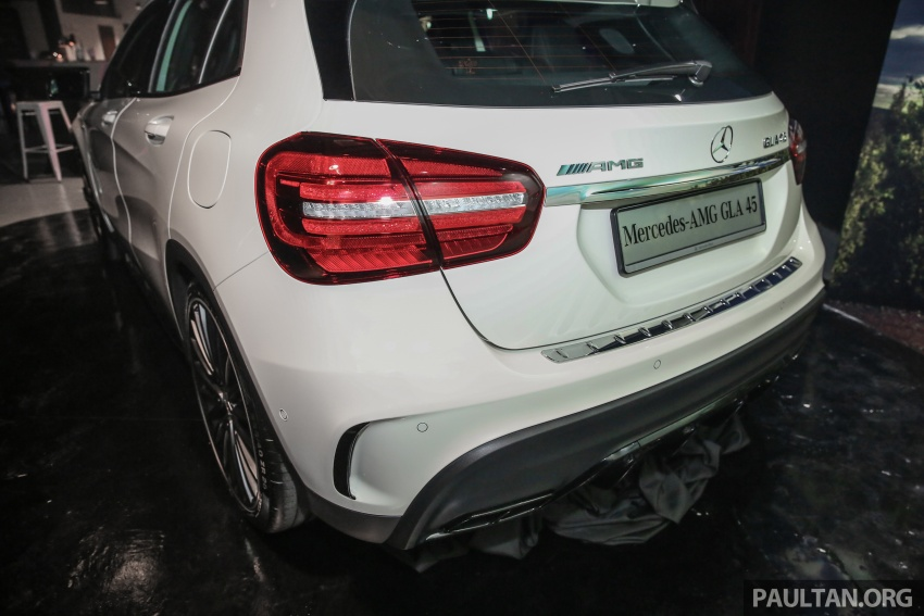 Mercedes-AMG GLA45 4Matic facelift makes its Malaysian debut – 375 hp and 475 Nm, RM408,888 Image #663575