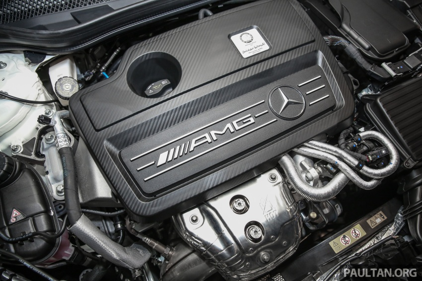 Mercedes-AMG GLA45 4Matic facelift makes its Malaysian debut – 375 hp and 475 Nm, RM408,888 Image #663580