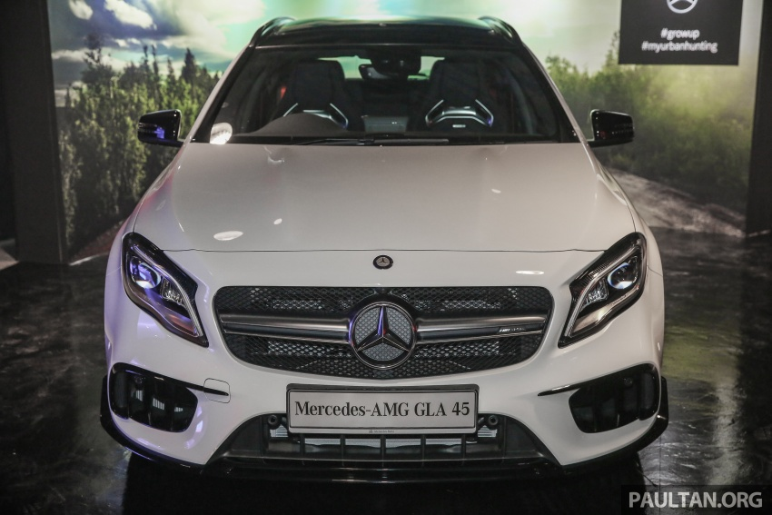 Mercedes-AMG GLA45 4Matic facelift makes its Malaysian debut – 375 hp and 475 Nm, RM408,888 Image #663559