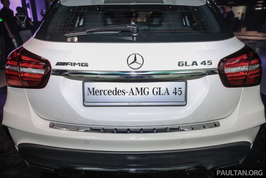 Mercedes-AMG GLA45 4Matic facelift makes its Malaysian debut – 375 hp and 475 Nm, RM408,888 Image #663561