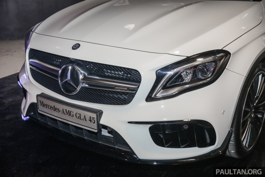 Mercedes-AMG GLA45 4Matic facelift makes its Malaysian debut – 375 hp and 475 Nm, RM408,888 Image #663564