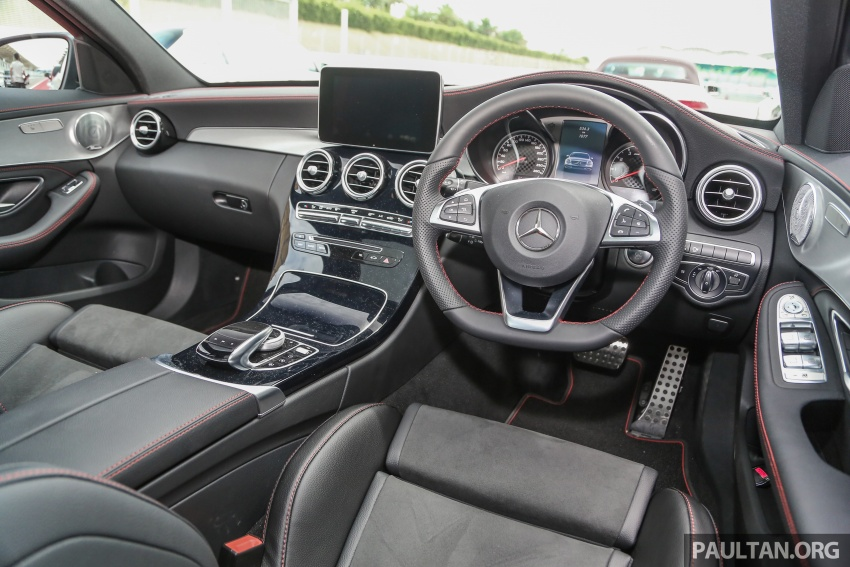Mercedes-AMG C43 4Matic Sedan and Coupe launched in Malaysia – 362 hp 3.0 litre biturbo V6, RM500k-549k Image #657387