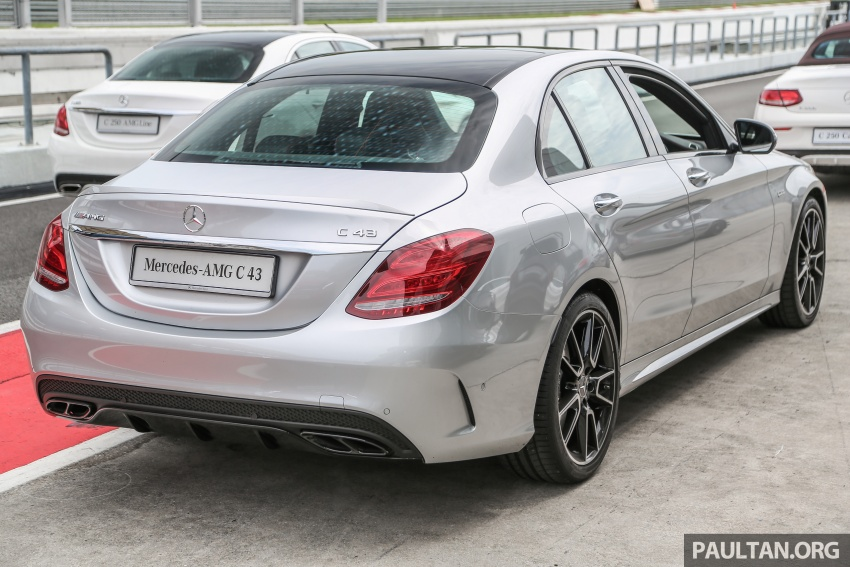 Mercedes-AMG C43 4Matic Sedan and Coupe launched in Malaysia – 362 hp 3.0 litre biturbo V6, RM500k-549k Image #657368