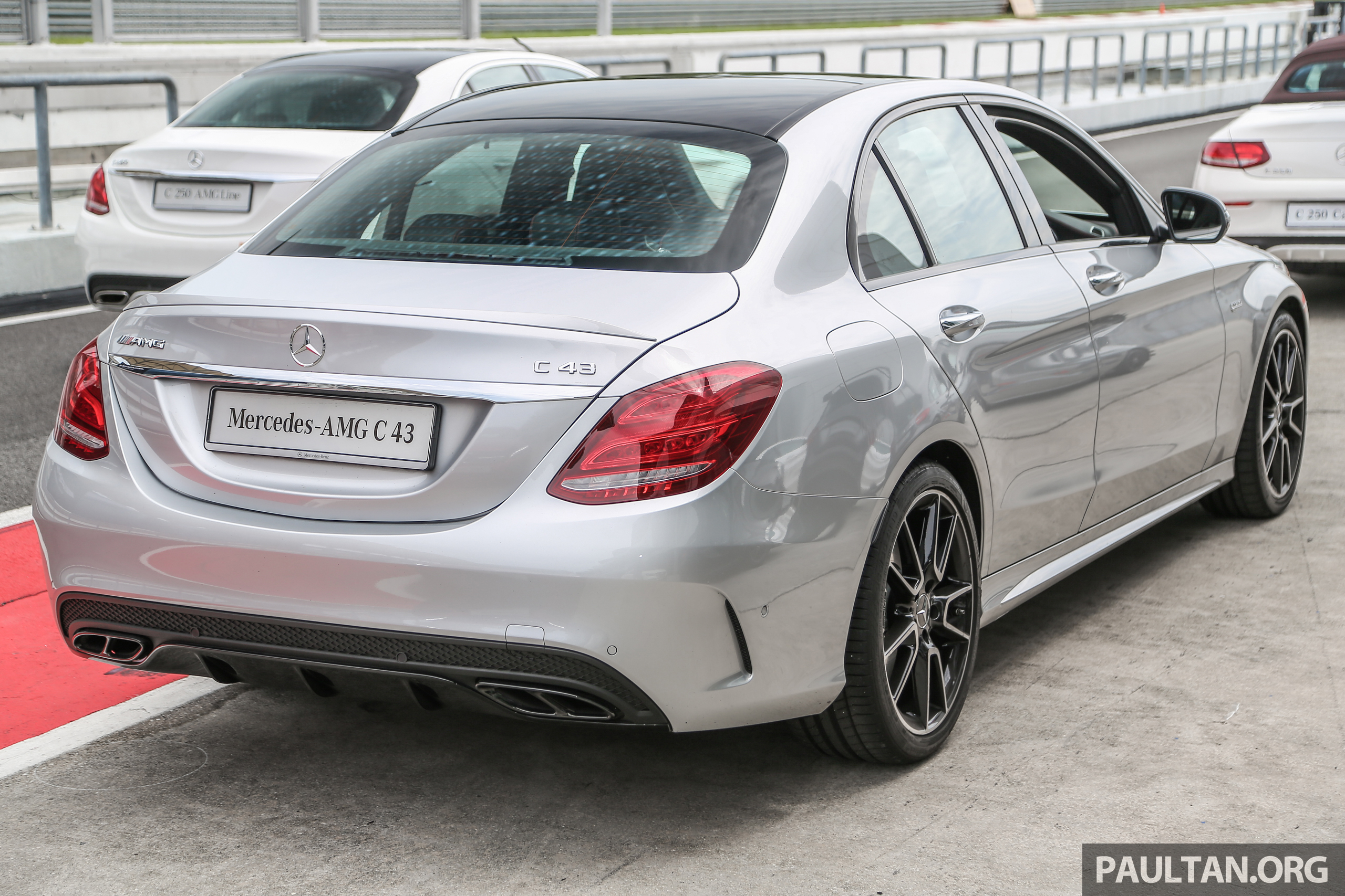 mercedes amg c43 4matic sedan and coupe launched in malaysia 362 hp 3 0 litre biturbo v6. Black Bedroom Furniture Sets. Home Design Ideas