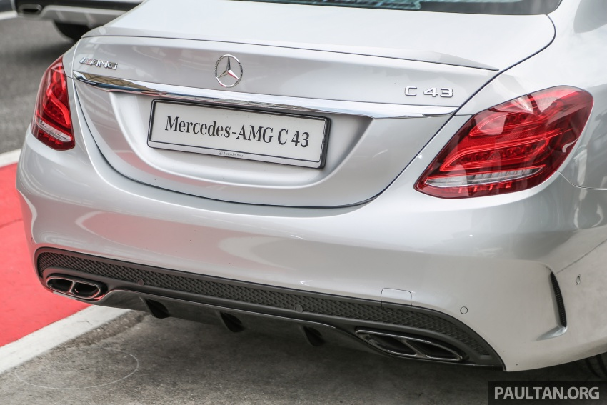 Mercedes-AMG C43 4Matic Sedan and Coupe launched in Malaysia – 362 hp 3.0 litre biturbo V6, RM500k-549k Image #657380