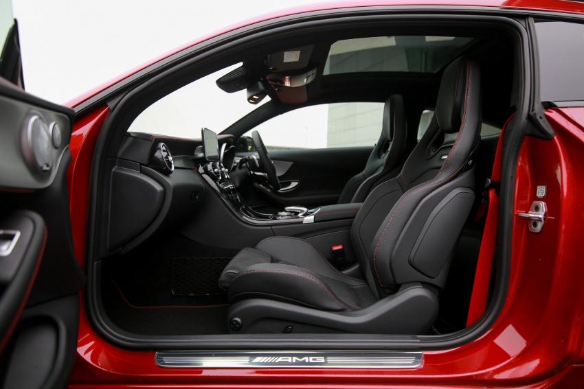 Mercedes-AMG C43 4Matic Sedan dan Coupe kini di M'sia – 3.0L biturbo V6 362 hp, RM500-RM549k Image #656737
