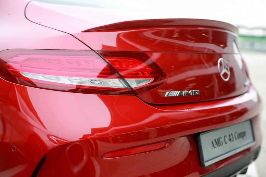 Mercedes-AMG C43 4Matic Sedan dan Coupe kini di M'sia – 3.0L biturbo V6 362 hp, RM500-RM549k Image #656733