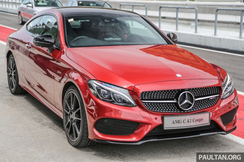Mercedes-AMG C43 4Matic Sedan and Coupe launched in Malaysia – 362 hp 3.0 litre biturbo V6, RM500k-549k Image #657307