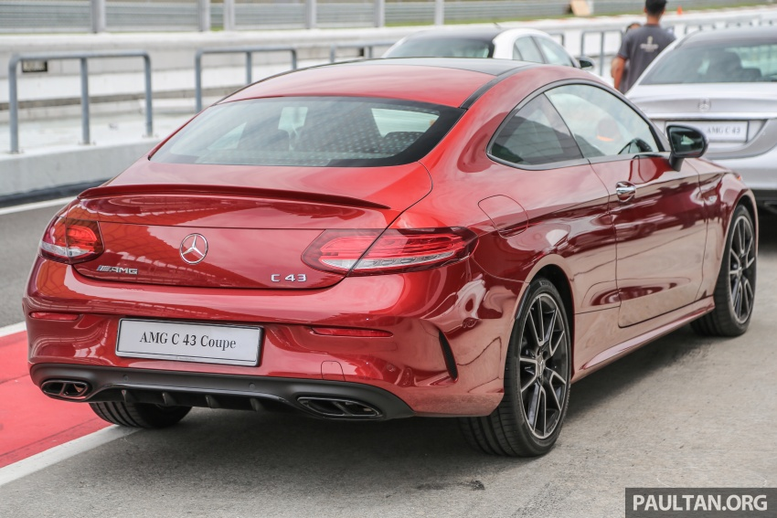Mercedes-AMG C43 4Matic Sedan and Coupe launched in Malaysia – 362 hp 3.0 litre biturbo V6, RM500k-549k Image #657310