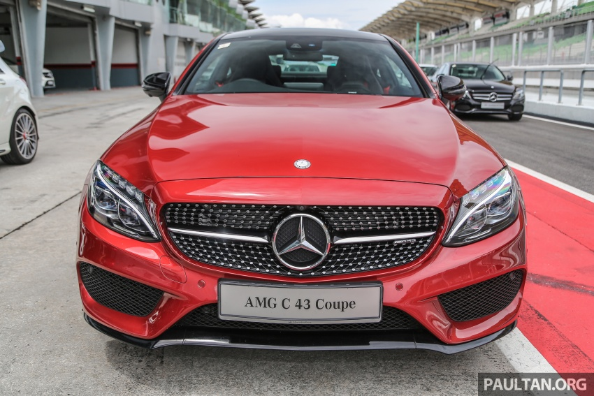 Mercedes-AMG C43 4Matic Sedan and Coupe launched in Malaysia – 362 hp 3.0 litre biturbo V6, RM500k-549k Image #657312