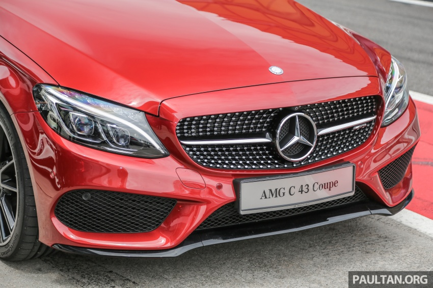 Mercedes-AMG C43 4Matic Sedan and Coupe launched in Malaysia – 362 hp 3.0 litre biturbo V6, RM500k-549k Image #657321