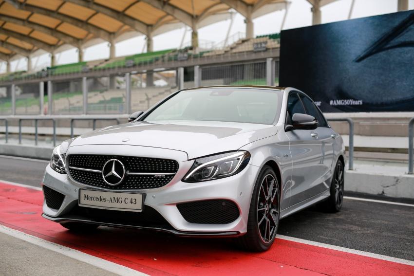 Mercedes-AMG C43 4Matic Sedan dan Coupe kini di M'sia – 3.0L biturbo V6 362 hp, RM500-RM549k Image #656760