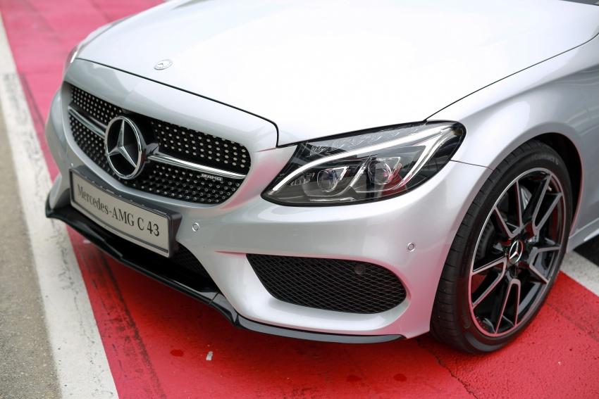Mercedes-AMG C43 4Matic Sedan dan Coupe kini di M'sia – 3.0L biturbo V6 362 hp, RM500-RM549k Image #656759