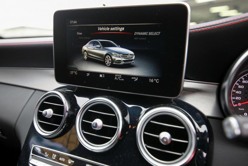 Mercedes-AMG C43 4Matic Sedan dan Coupe kini di M'sia – 3.0L biturbo V6 362 hp, RM500-RM549k Image #656754